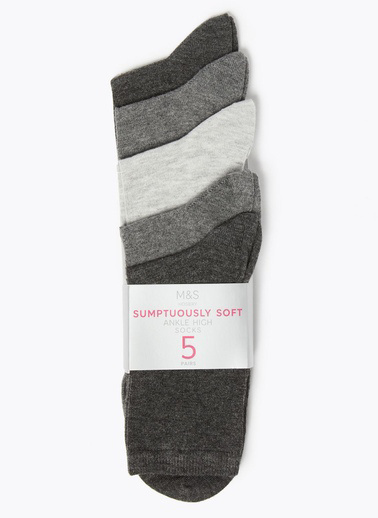 Marks & Spencer Çorap Seti Gri